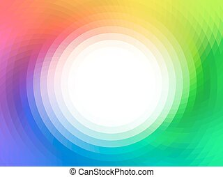 vector colorful background - vector composition with grid,...