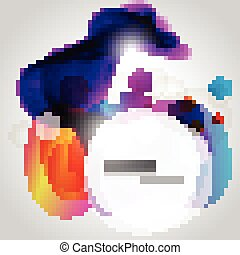 vector colorful design