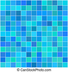Vector - Colorful multi color seamless square tiles for bathroom, kitchen or background use
