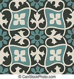 seamless floral patterns vintage