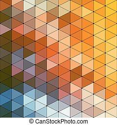 Triangle Mosaic Background