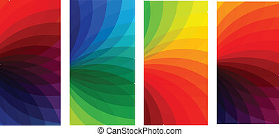 vector colorfull banners set