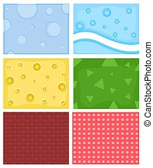Vector Comic Backgrounds