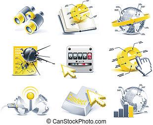 Vector communication icon set. P.2