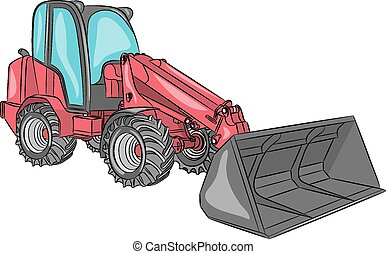 Vector compact wheel loader.
