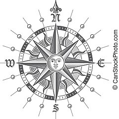 Vector Compass Rose