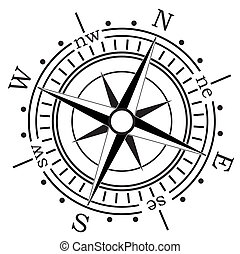 Marine Compass Stock Illustration Images 4193