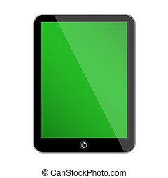 Vector computer tablet