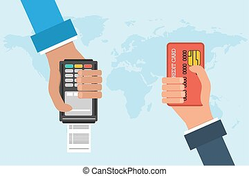 Vector concept mobile banking
