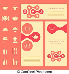 vector cooking background,