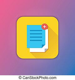 Vector Copy Documents Icon