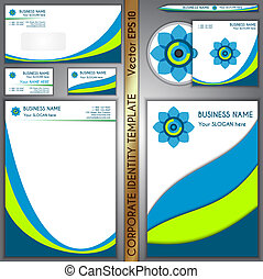 Vector corporate brand template - Vector corporate business...