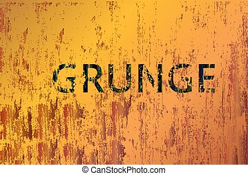 Vector corrosion background