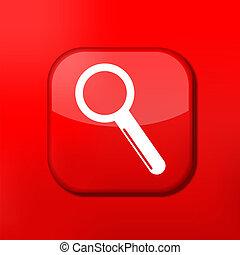 Vector creative app icon. Eps10