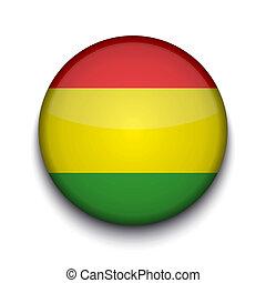 Vector creative circle flag on white background. Eps10