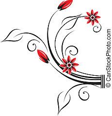 Vector creative design element