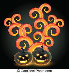 creative halloween design