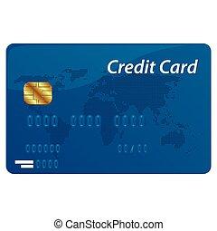 Vector credit card