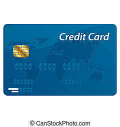 Vector credit card