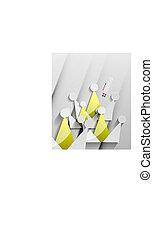 Vector crown 3d paper design