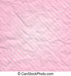 crumpled background with stripes