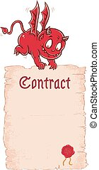 ector Devil's contract.