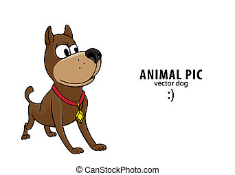 Wonderful White Chubby Adorable Dog - vector-cute-dog-on-white-background-vector-clip-art_csp9299261  Collection_208146  .jpg
