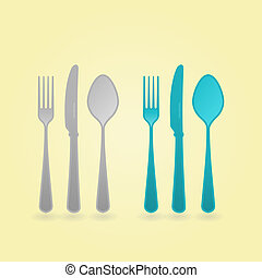 Vector Cutlery Concept