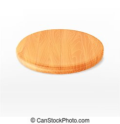vector cutting board isolated on a white background