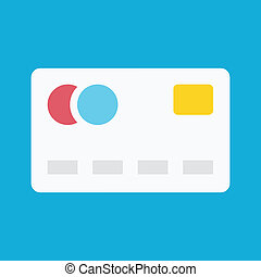Vector Debit Card Icon