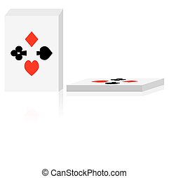 Vector deck of cards