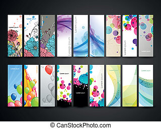 Vector Decorative Banners