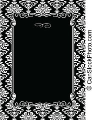 Vector Decorative Black Frame