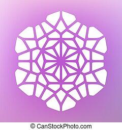 Vector Decorative Mandala Ornaments Illustration