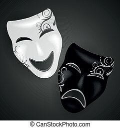 Vector Decorative Masks