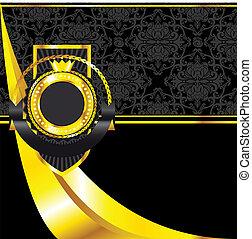 Vector decorative ornamental backgr