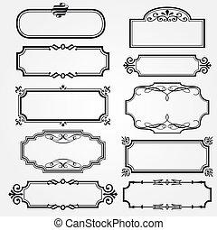 Vector decorative ornate design