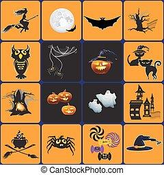 Vector Design elements for halloween.