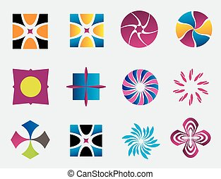 Vector design elements logo icon