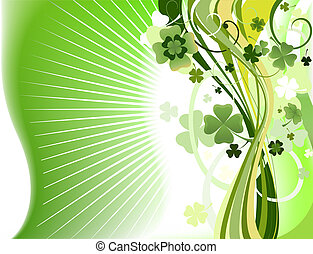design for the St. Patrick's Day