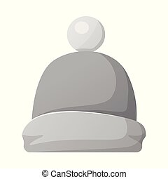 Vector design of headgear and cap logo. Collection of...