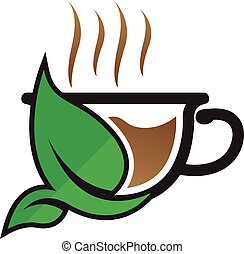 Vector Design of Herbal Tea Cup