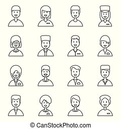 Vector design of medical and clinic symbol. Collection of medical and hospital vector icon for stock.