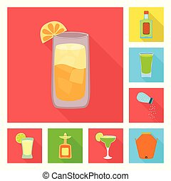 Vector design of party and celebration icon. Collection of party and Latin stock symbol for web.