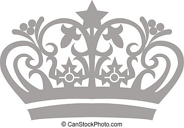 Tiara Crown - Vector Design of Tiara Crown Logo