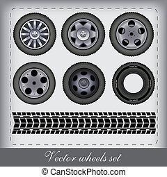 vector design wheels