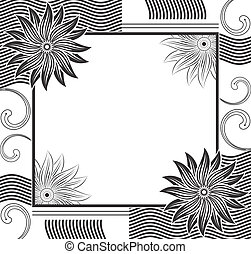 Vector designer frame