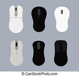 Vector Designs of Computer Mouse