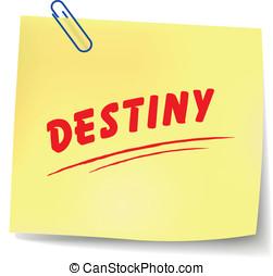 Vector destiny message