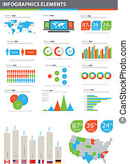 vector, detalle, infographic